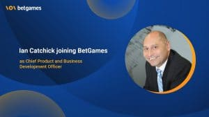 BetGames Choose Ian Catchick For Ambitious Goals