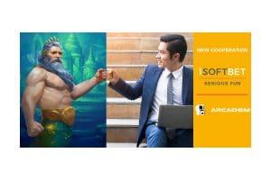 iSoftBet Partners With Arcadem
