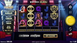 Microgaming And All41 Studio Release WWE Legends: LinkWin™