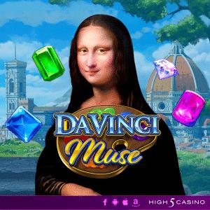 High 5 Games Launch Da Vinci Slot Dedicated To Leonardo's Art